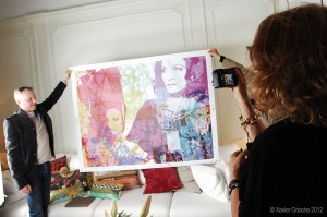 Portrait of Diane von Furstenberg by Phil.Macquet