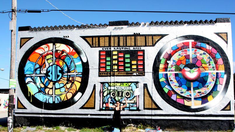 Murals at Wynwood Walls - Florida