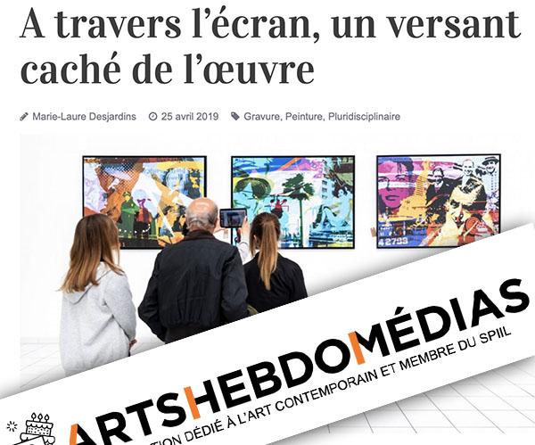 Article ArtsHebdoMedia sur le MAM
